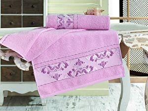 Купить полотенце Sofi De Marko Viste 50х90 см, розовое