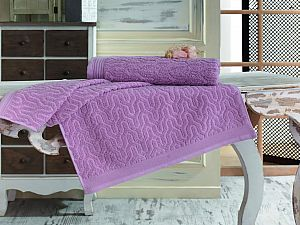 Купить полотенце Sofi De Marko Vega 50х90 см, грязно-розовое