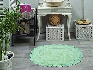 Купить коврик Sofi De Marko MELINDA (ментол) Коврик для ванной кружевной 60х100