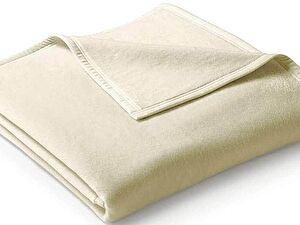 Плед Biederlack Uno Cotton Natur