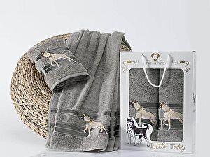 Набор из 2-х полотенец Two Dolphins Little Teddy, серый