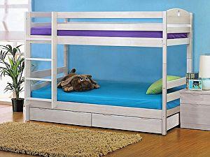 Купить кровать Боровичи-мебель двухярусная c ящиками трансформер