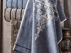 Полотенце Arya Vicente, синее