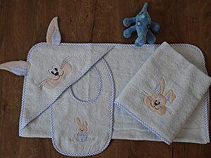 Купить полотенце Arya Набор Для Ванны Arya Детская Rabbit With Ears