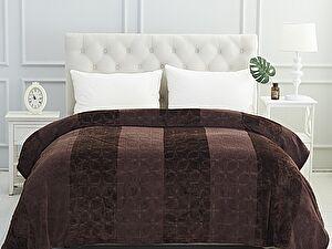 Купить плед Karna Palma 220x240 см, коричневый