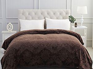 Купить плед Karna Darvin 220x240 см, темно-коричневый