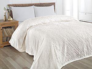 Купить плед Karna Piramit 160х220 см, кремовый 160х220