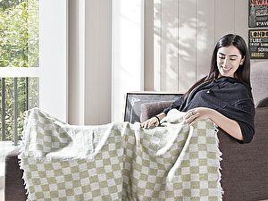 Купить плед Karna Isabella 130x150 см, светло-зеленый