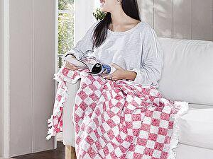Купить плед Karna Isabella 130x150 см, красный 130х150