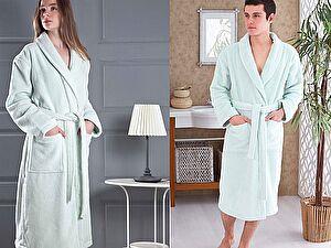 Купить халат Karna Mora, светло-зеленый