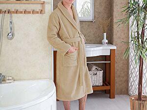 Купить халат Karna Mora, бежевый