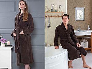 Купить халат Karna Mora, коричневый