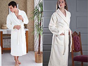 Купить халат Karna Mora, кремовый