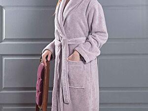Купить халат Karna Mora, светло-лавандовый