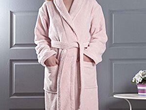 Купить халат Karna Mora, пудра