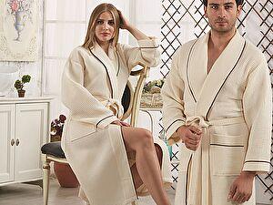 Купить халат Karna Aleron, кремовый