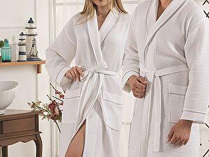 Купить халат Karna Aleron, белый