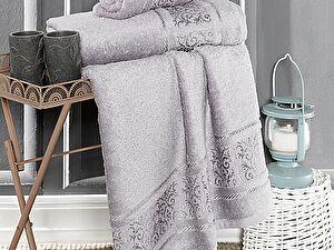 Купить полотенце Karna Armond 50x90, серый