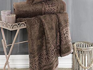Купить полотенце Karna Armond 90x150, коричневый