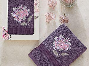 Купить полотенце Karna Opak, фиолетовый