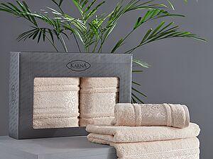 Купить полотенце Karna Armond, бежевый