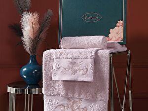 Купить полотенце Karna Mira, пудра
