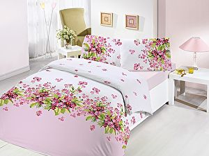 Постельное белье Altinbasak Sumbul, розовый