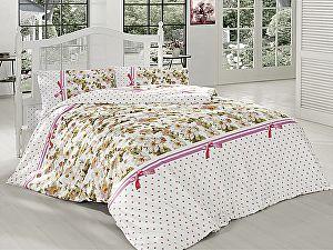 Постельное белье Altinbasak Fulya, розовый