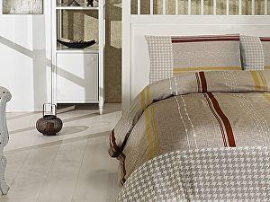 Постельное белье Altinbasak Girs, коричневый
