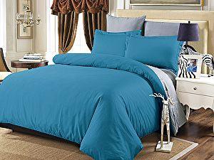 Постельное белье Karna Sanford, синий-саксен-серый