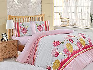 Постельное белье Altinbasak Lily, розовый