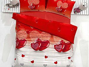 Постельное белье Altinbasak Loveliy, красный