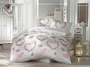 Постельное белье Altinbasak Huma, розовый