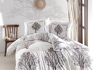 Постельное белье Altinbasak Tree, коричневый