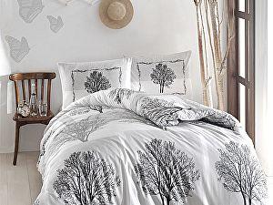 Постельное белье Altinbasak Tree, серый