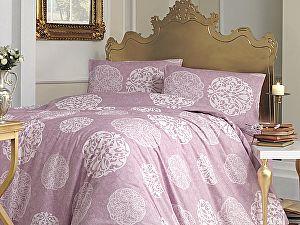 Постельное белье Altinbasak Bello, грязно-розовый