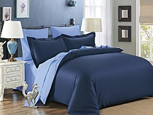 Постельное белье Karna Sanford, парламент-светло-голубой