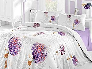 Постельное белье Altinbasak Hidra, фиолетовый