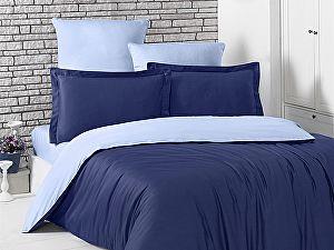 Постельное белье Karna Loft темно-синий, голубой
