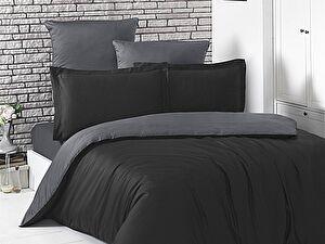 Купить постельное белье Karna Loft чёрный, темно-серый
