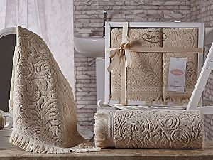 Купить полотенце Karna Esra, бежевый