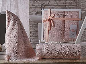 Комплект полотенец Karna Esra, абрикосовый