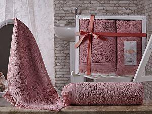Купить полотенце Karna Esra, розовый