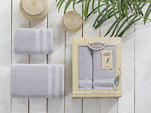 Комплект полотенец Karna Petek, серый