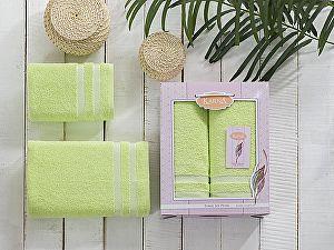 Комплект полотенец Karna Petek, зеленый