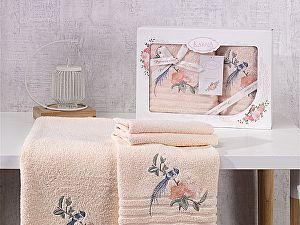 Комплект полотенец Karna Este, абрикосовый