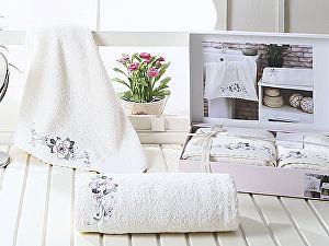 Комплект полотенец Karna Suena, кремовый