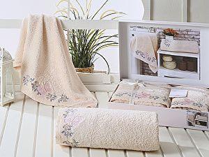 Комплект полотенец Karna Lavore, светло-абрикосовый