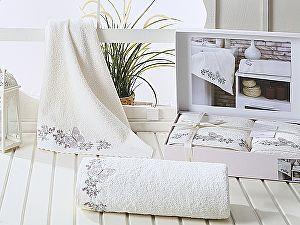 Комплект полотенец Karna Lavore, кремовый