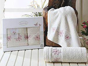 Комплект полотенец Karna Bianca, кремовый